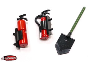 Fire extinguisher and Spade Set