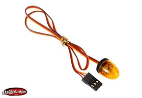 LED Light Yellow with 5 Flashing Modes