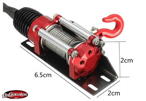 Metal Winch Traction System for Crawler