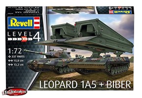 Leopard 1A5 & Bridgelayer Biber (03307)