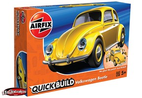 VW Beetle Yellow (J6023)