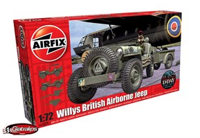 Willys British Airborne Jeep (02339)