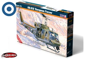 AB-212 EUROPEAN FORCES 1:72 (D-54)