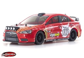 FAZER VE-X Lancer Evolution (red)