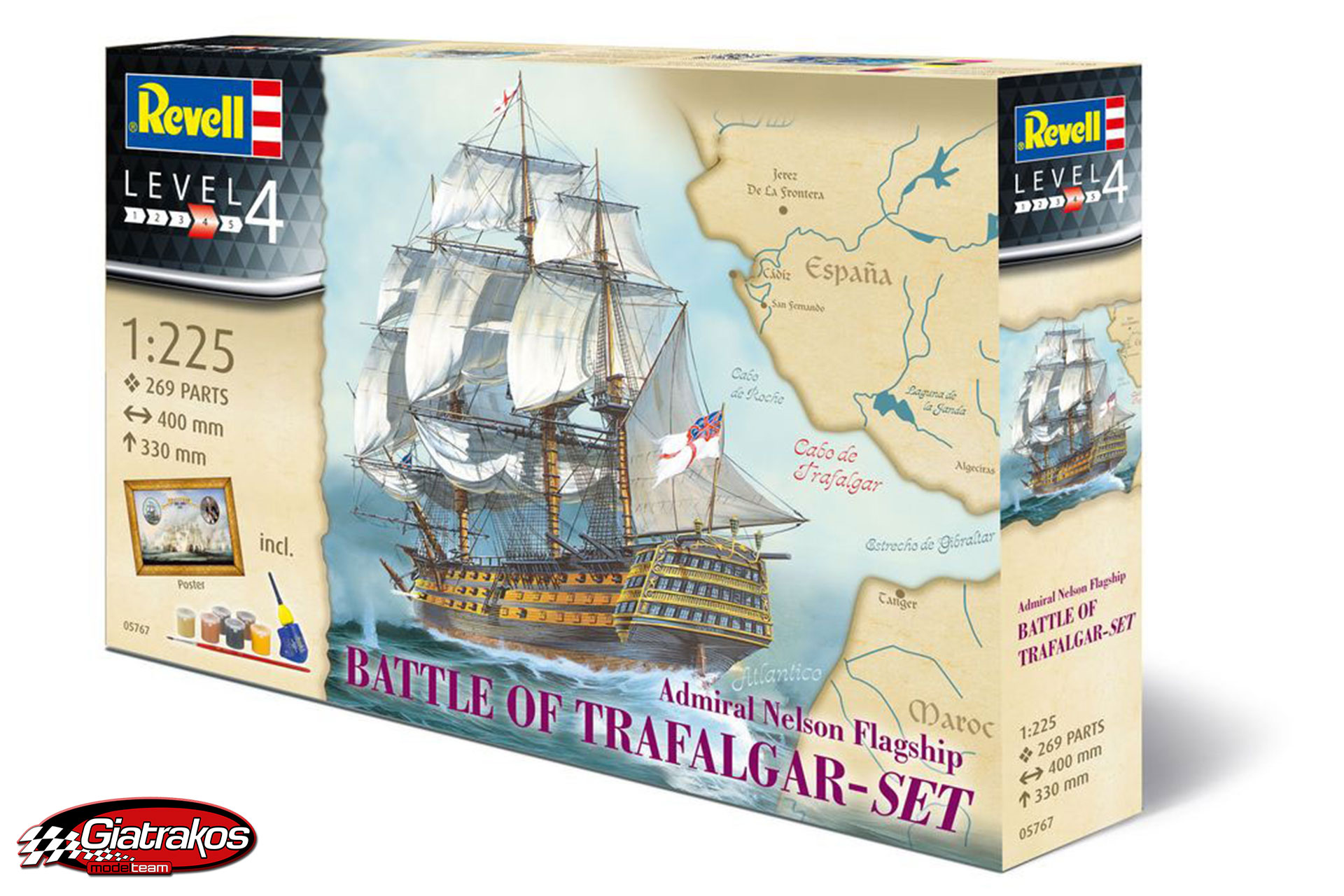Battle of Trafalgar HMS Victory (05767)