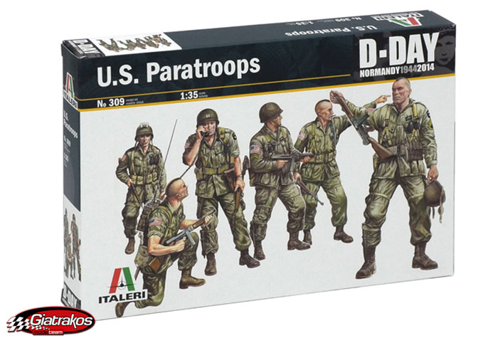 U.S. Paratroops D-Day Series (309)