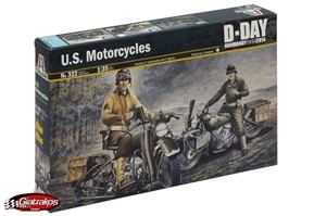 U.S. Motorcycles D-DAY Normandy (0322)