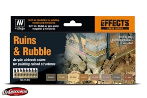 Ruins & Rubble Air colors (71214)