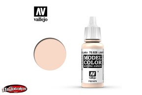 Acrylic Color Light Flesh - Vallejo (70928)