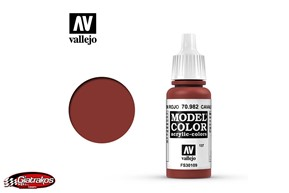 Acrylic Color Cavarly Brown - Vallejo (70982)