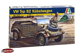 VW Typ 82 Kubelwagen with 2 Figures (312)