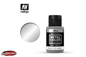 Aluminum Metal Color - Vallejo (77701)