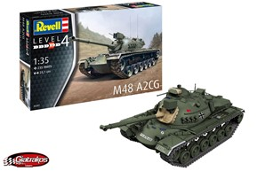 M48 A2CG Battle Tank (03287)