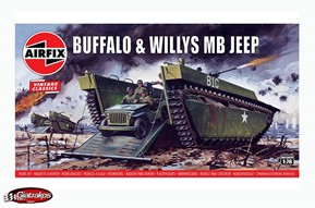 Buffalo Willys MB Jeep 1/76 (A02302)