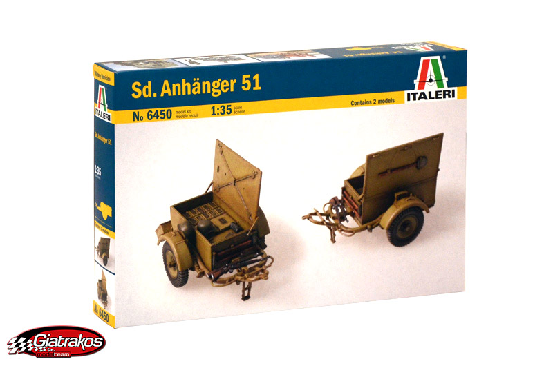 SD. ANHANGER 51, Scale 1/35 (6450)