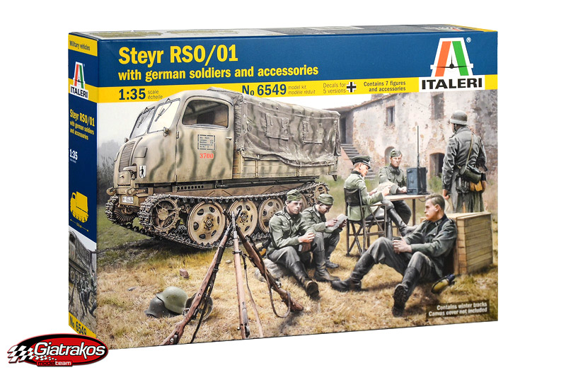 Steyr RSO/01 with German Soldiers (6549)