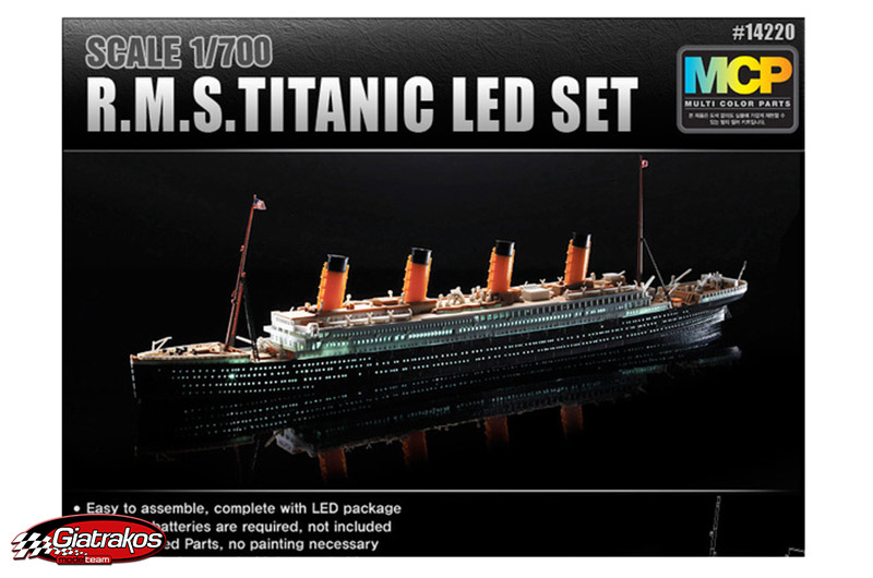 R.M.S. TITANIC with Led, (14220)