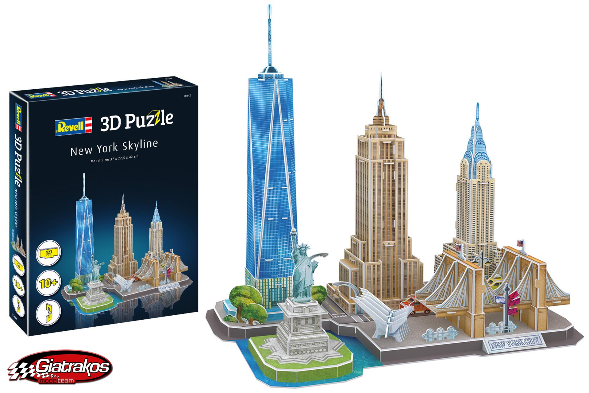 3D Puzzle New York Skyline, Πάζλ (00142)
