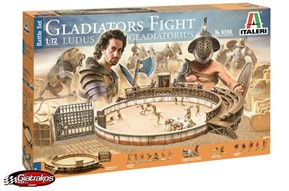 Gladiators Fight, Ludus Gladiatorius (6196)
