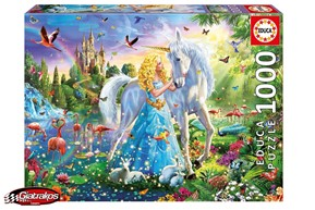 The Princess And The Unicorn 1000pcs (17654)
