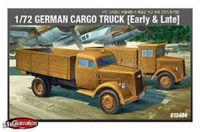 German Cargo Truck, Early & Late (13404)