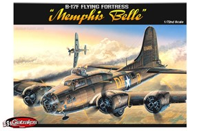 B-17F Flying Fortress Memphis Belle (12495)