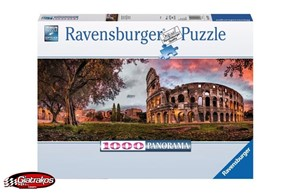 Sunset Colosseum Panorama Puzzle (150779)