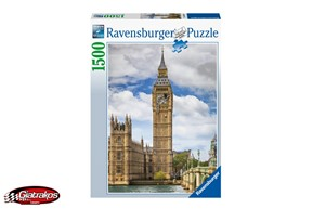 Funny Cat on Big Ben, Puzzle (160099)