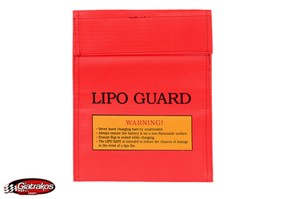 LiPO Safe bag XXL Red