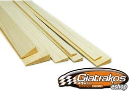 Balsa trailing 6x25mm