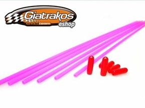 Color Antenna Pink 6pcs