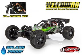 Yellow RC Dune Racer Buggy 2.4GHz RTR