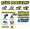 Yellow RC Rock Racer 2.4GHZ RTR
