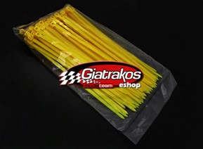 Cable Ties Yellow (100)