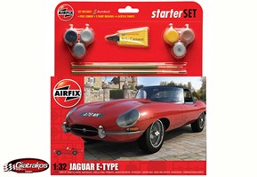 Jaguar E-Type Starter Set