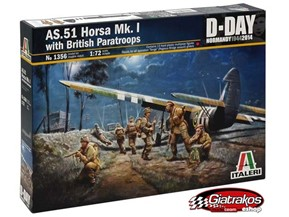 AS.51 HORSA Mk.I with BRITISH PARATROOPS