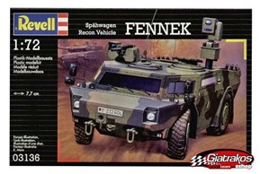 Recon vehicle FENNEK