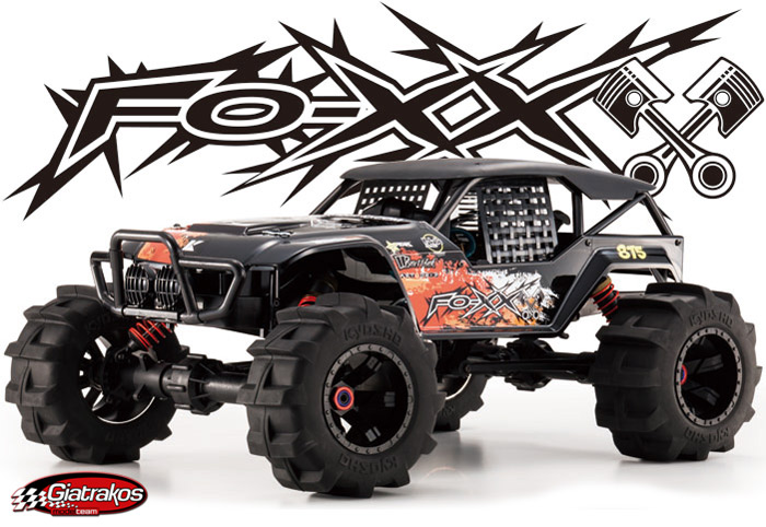 FO-XX Nitro Powered 4WD