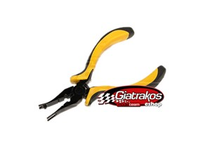 Curved ball link pliers