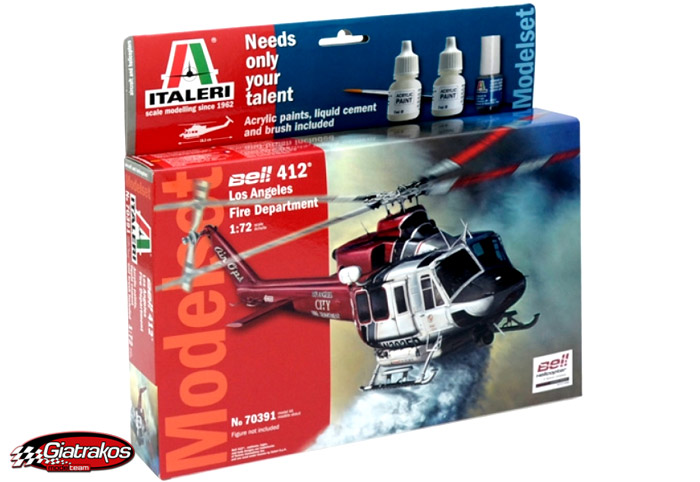 BELL 412 Fire Dep. Set (70391)