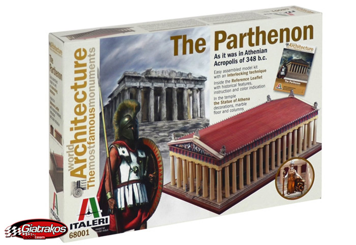 Parthenon Ancient Greek temple 68001