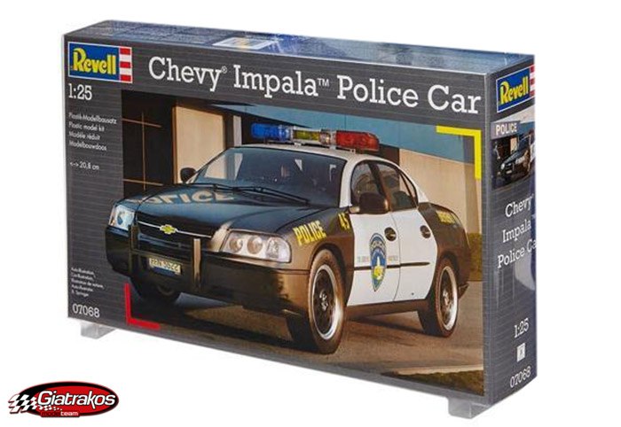 Chevy Impala Police Car (07068)