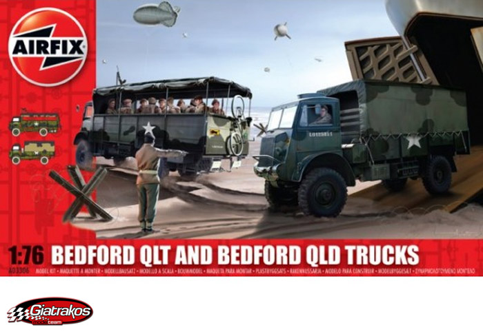 WWI British QLD and QLT Trucks