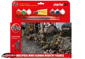 WWII German Infantry Multipose