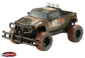 MUD SCOUT Monster Truck (white)