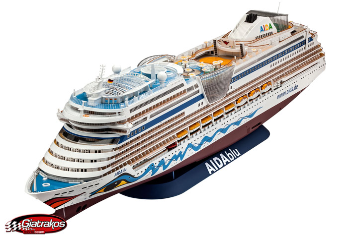 Cruiser Ship AIDA 1/400