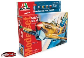 Spitfire Mk.Vb 1/72 Model Set