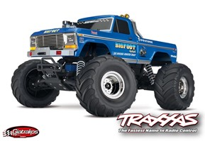 Traxxas BigFoot, Monster Truck.