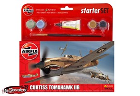 Curtiss Tomahawk IIB Starter Set 1:72