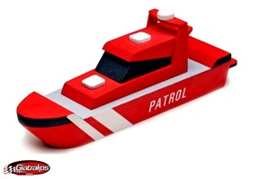Patrol Boat Wooden Kit